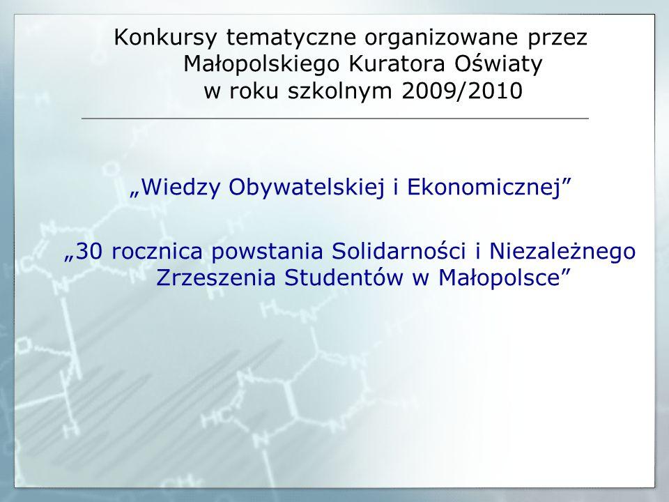 """""""Wiedzy Obywatelskiej i Ekonomicznej"""