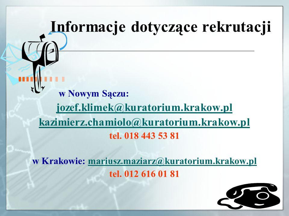 w Krakowie: mariusz.maziarz@kuratorium.krakow.pl
