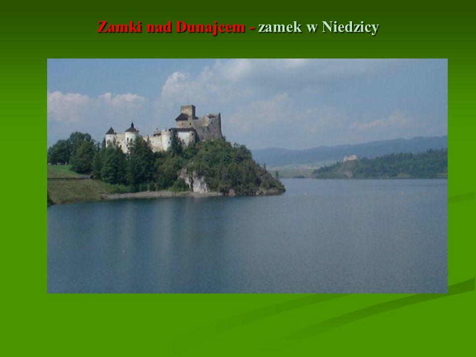 Zamki nad Dunajcem - zamek w Niedzicy