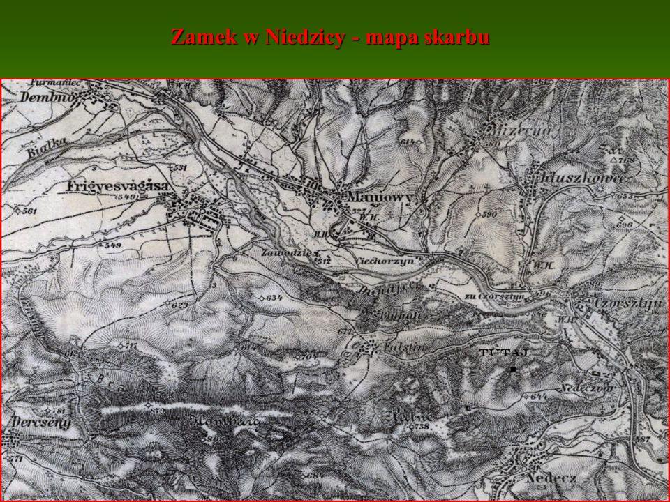 Zamek w Niedzicy - mapa skarbu