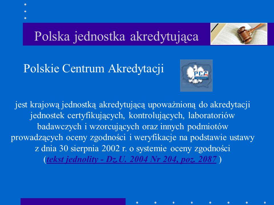 Polska jednostka akredytująca