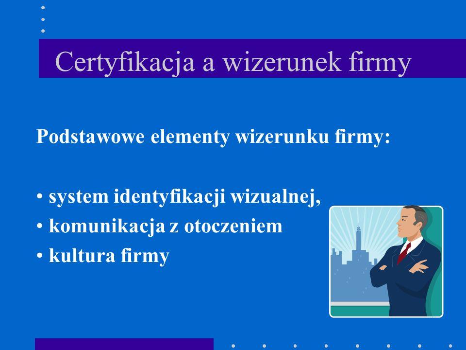 Certyfikacja a wizerunek firmy