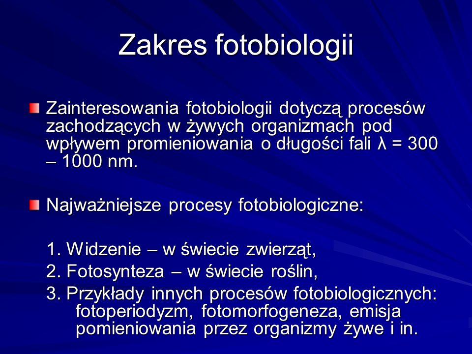 Zakres fotobiologii