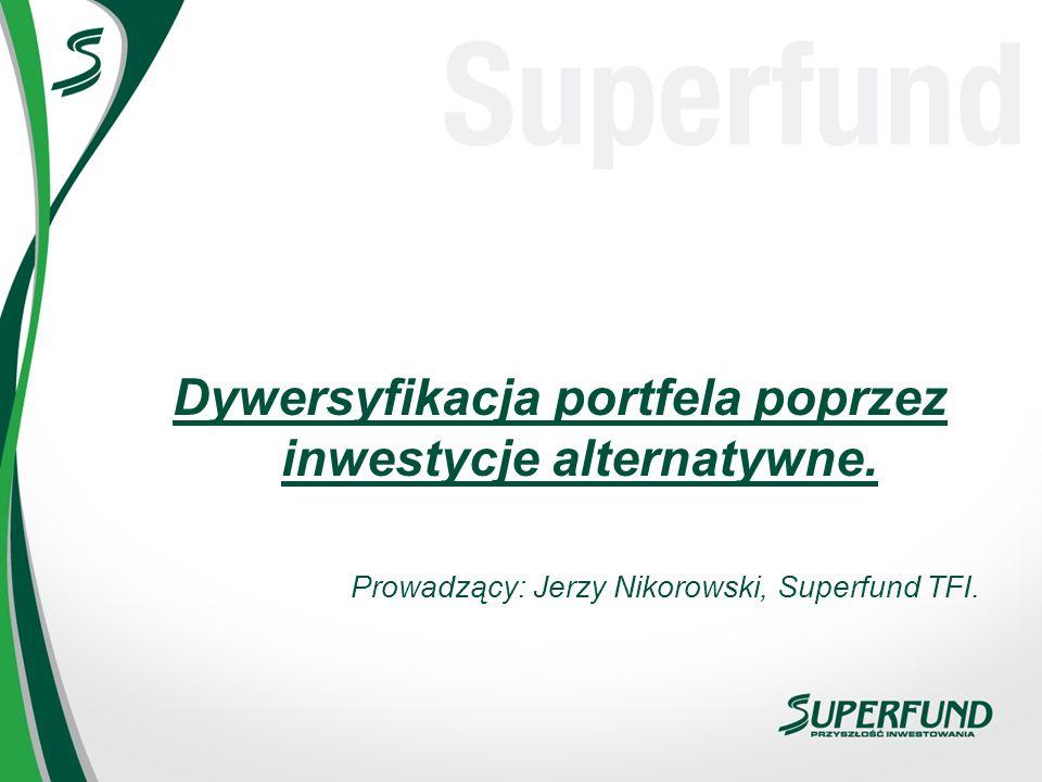 Dywersyfikacja portfela poprzez inwestycje alternatywne.