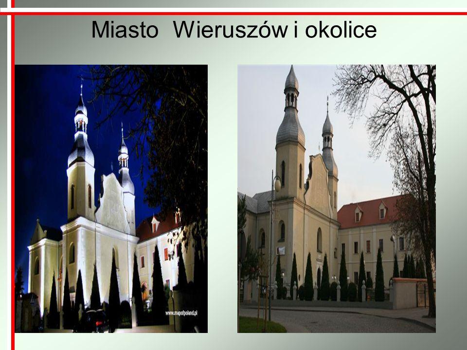 Miasto Wieruszów i okolice