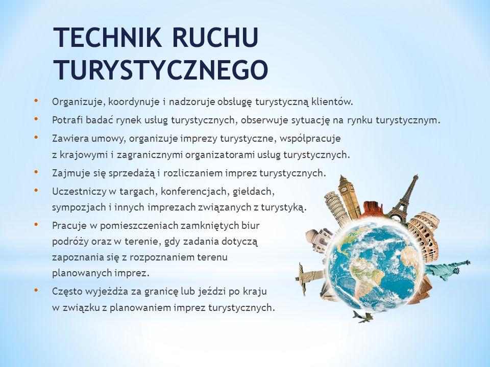 TECHNIK RUCHU TURYSTYCZNEGO