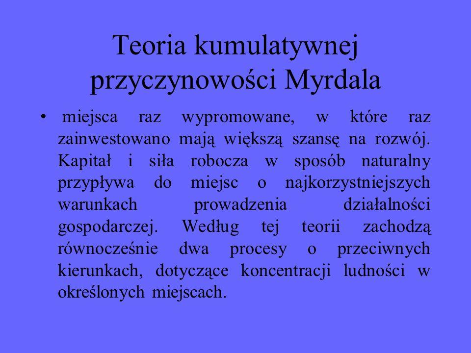 Teoria kumulatywnej przyczynowości Myrdala