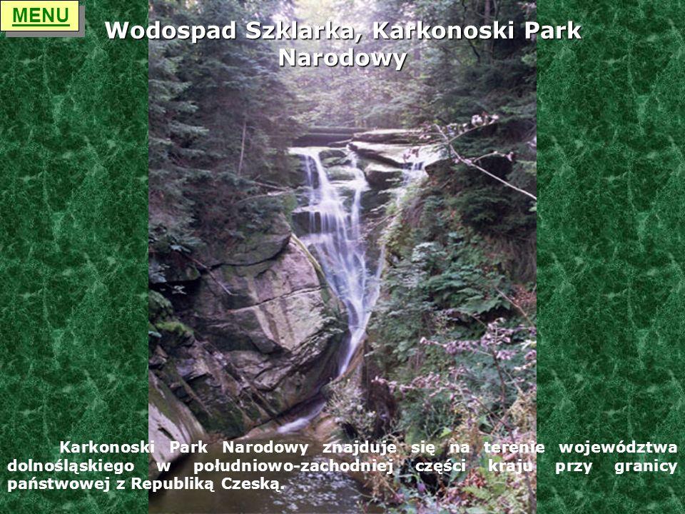 Wodospad Szklarka, Karkonoski Park Narodowy