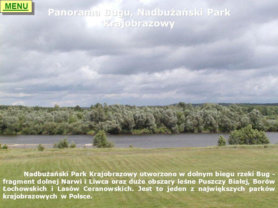 Panorama Bugu, Nadbużański Park Krajobrazowy