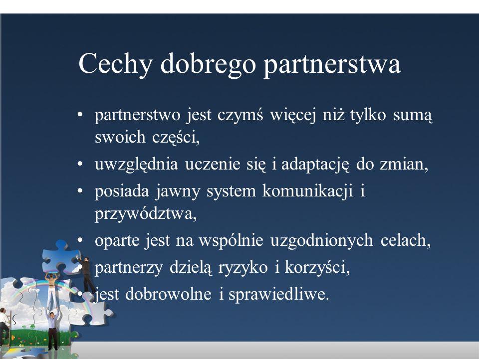 Cechy dobrego partnerstwa