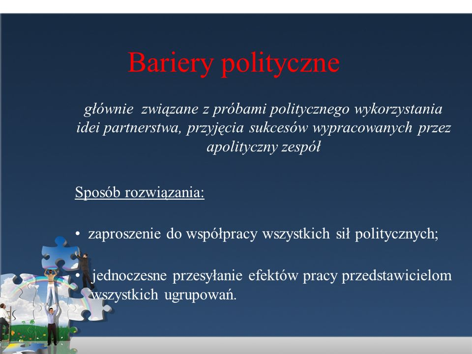 Bariery polityczne