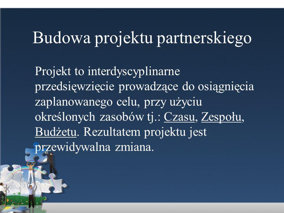 Budowa projektu partnerskiego