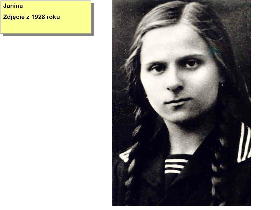 Janina Zdjęcie z 1928 roku