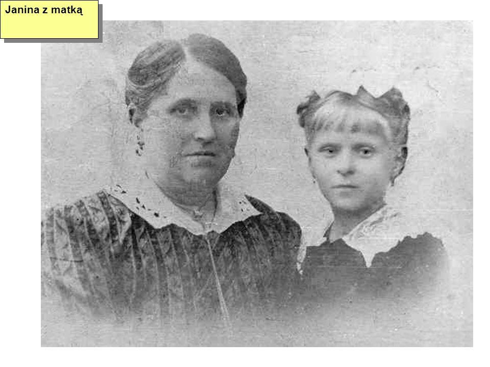 Janina z matką