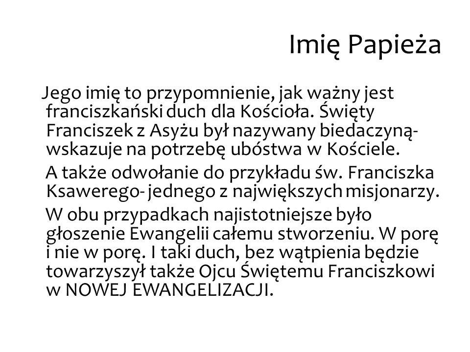Imię Papieża