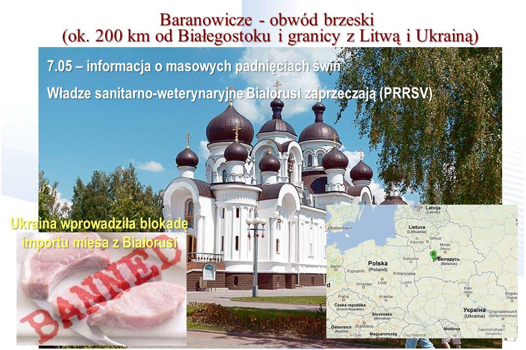 Ukraina wprowadziła blokadę importu mięsa z Białorusi