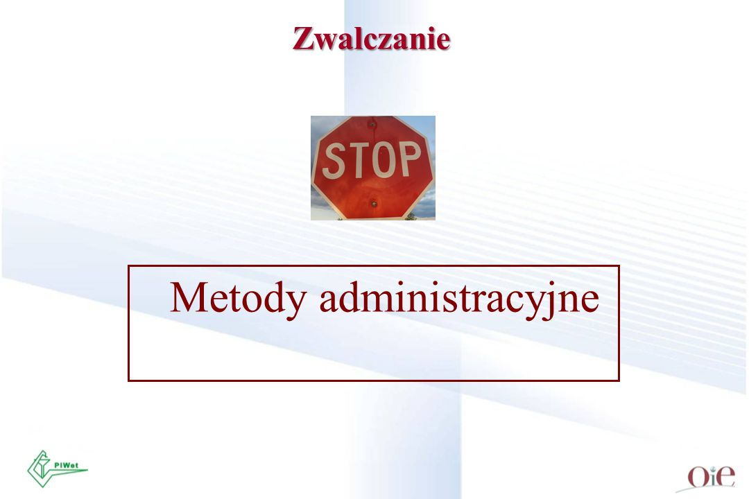 Metody administracyjne