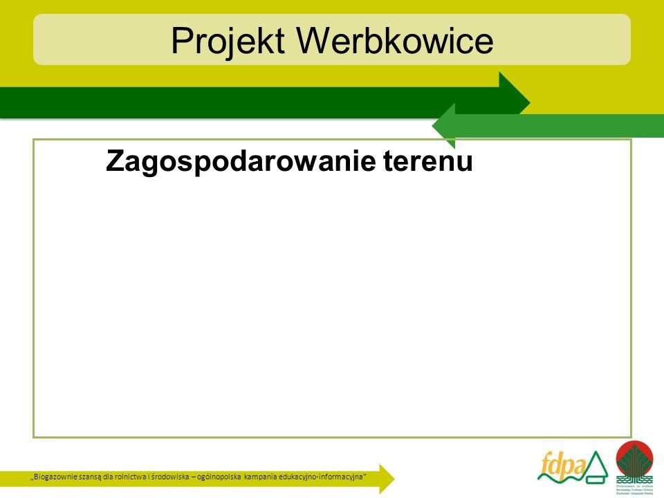 Projekt Werbkowice Zagospodarowanie terenu
