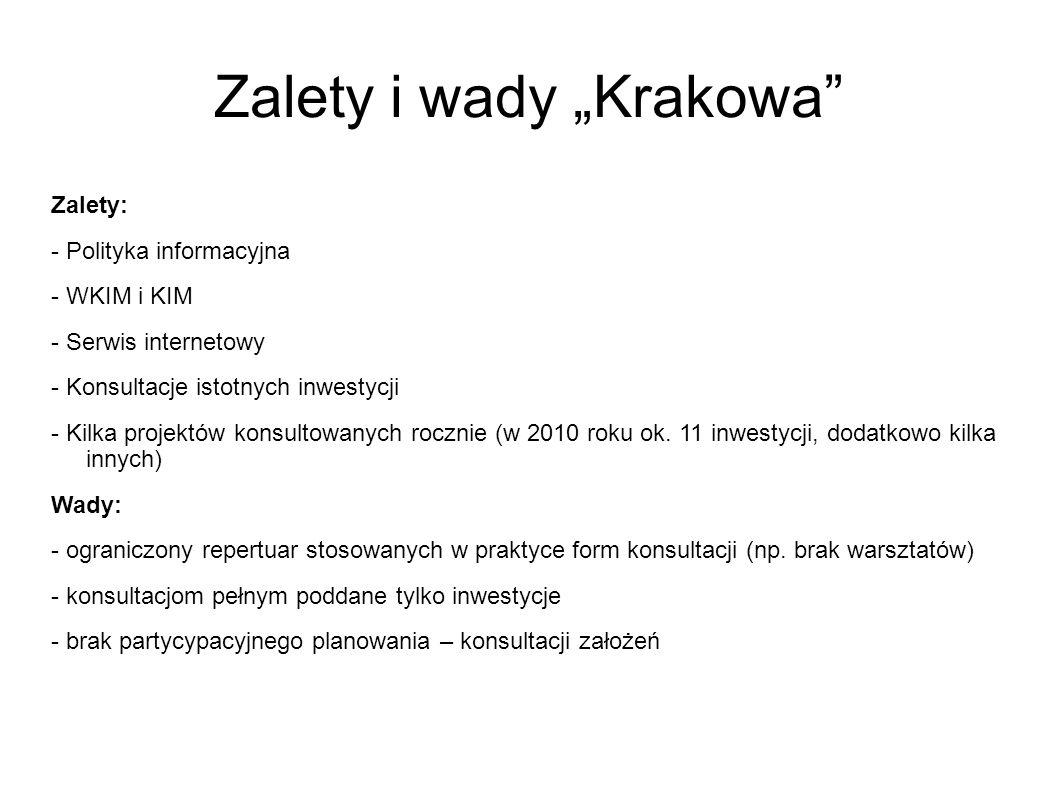 """Zalety i wady """"Krakowa"""