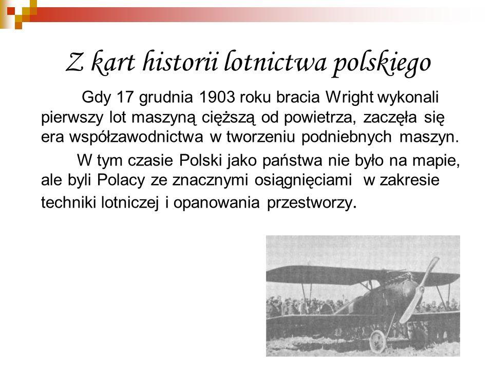 Z kart historii lotnictwa polskiego