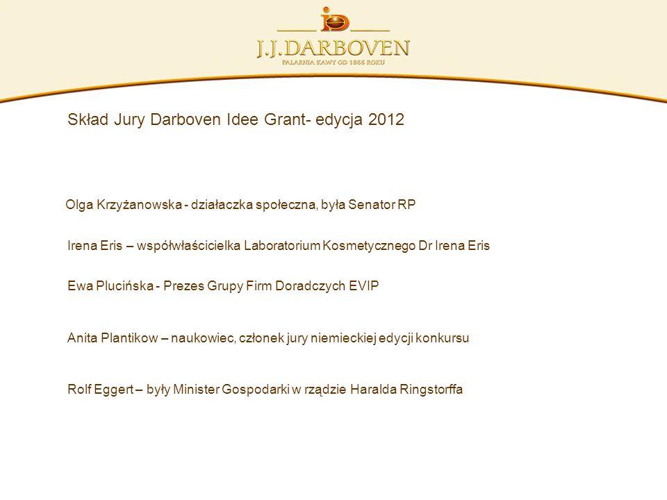 Skład Jury Darboven Idee Grant- edycja 2012