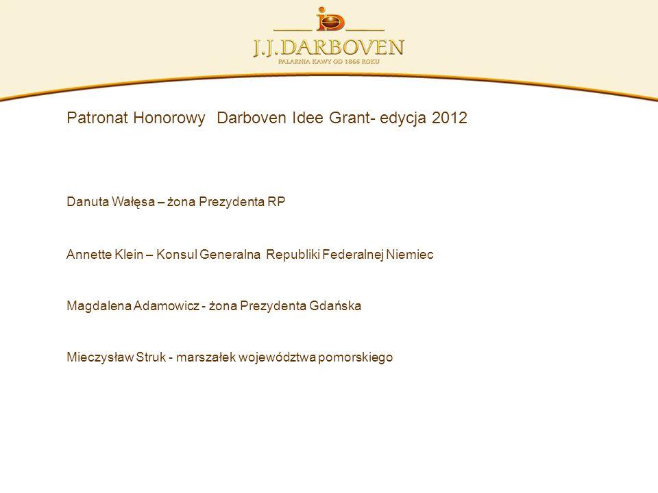 Patronat Honorowy Darboven Idee Grant- edycja 2012