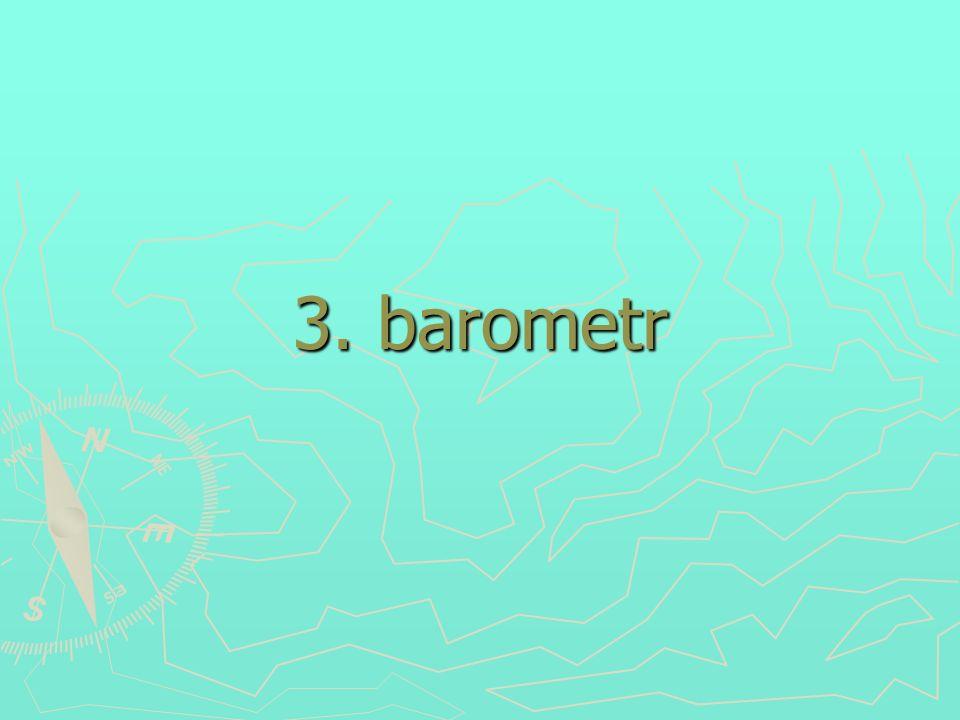 3. barometr