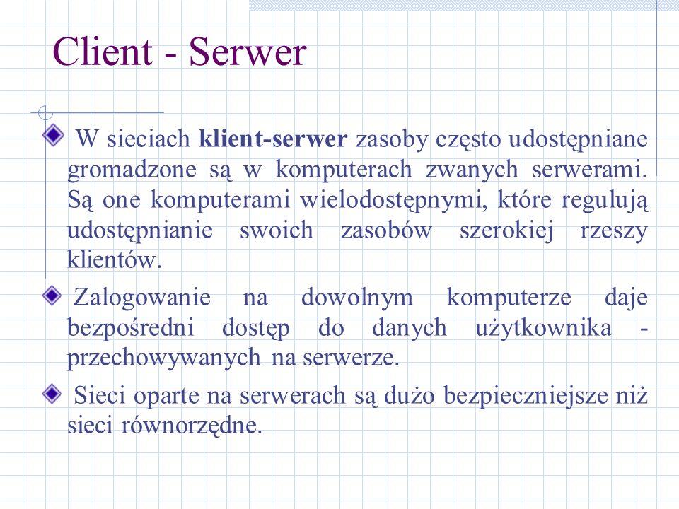 Client - Serwer