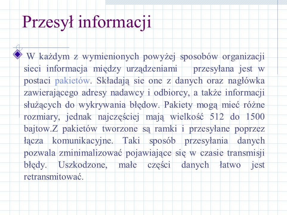 Przesył informacji