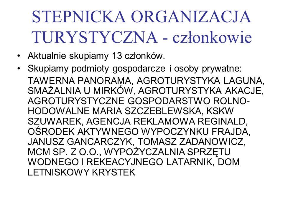 STEPNICKA ORGANIZACJA TURYSTYCZNA - członkowie
