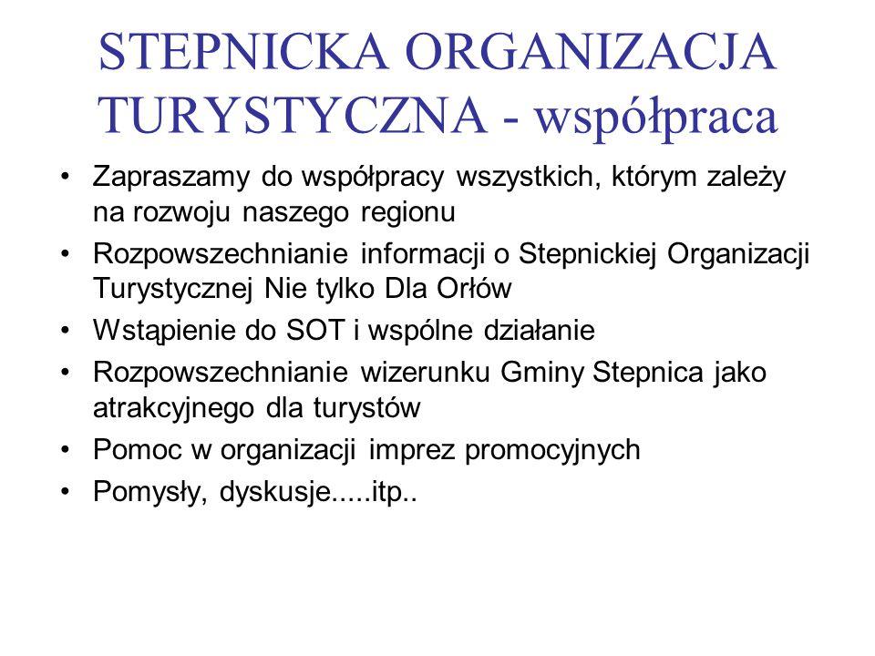 STEPNICKA ORGANIZACJA TURYSTYCZNA - współpraca