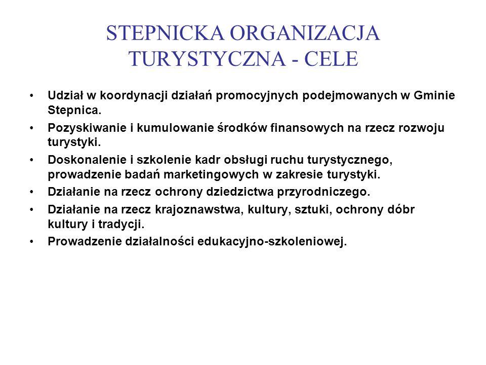 STEPNICKA ORGANIZACJA TURYSTYCZNA - CELE