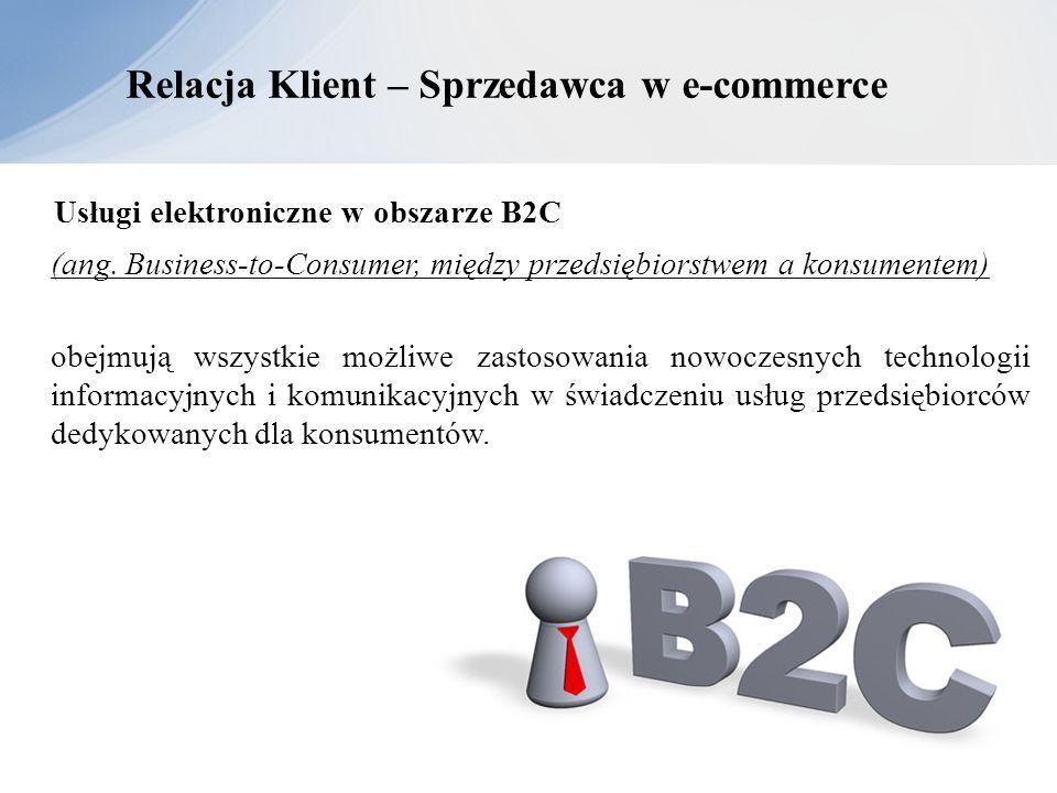 Relacja Klient – Sprzedawca w e-commerce