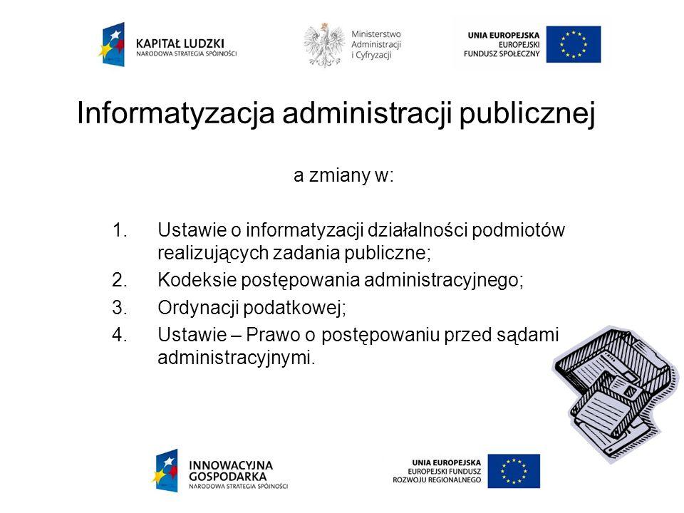 Informatyzacja administracji publicznej