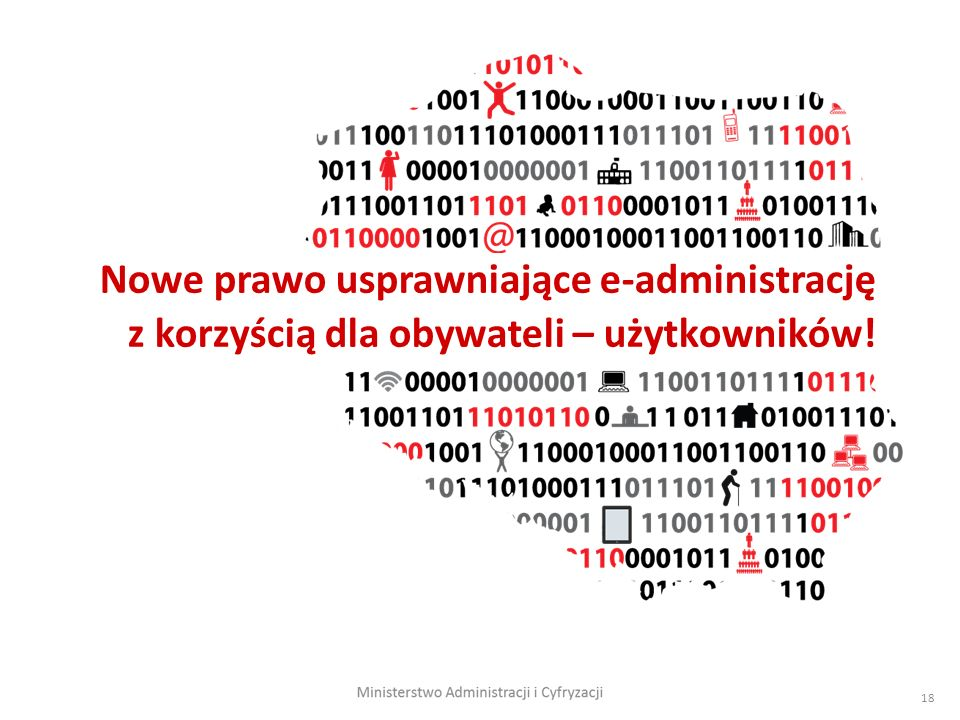 Nowe prawo usprawniające e-administrację