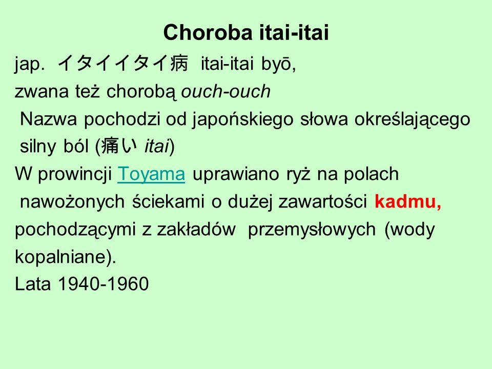 Choroba itai-itai jap. イタイイタイ病 itai-itai byō,