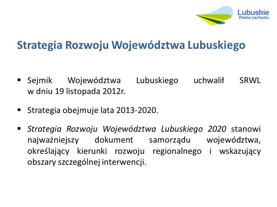 Strategia Rozwoju Województwa Lubuskiego
