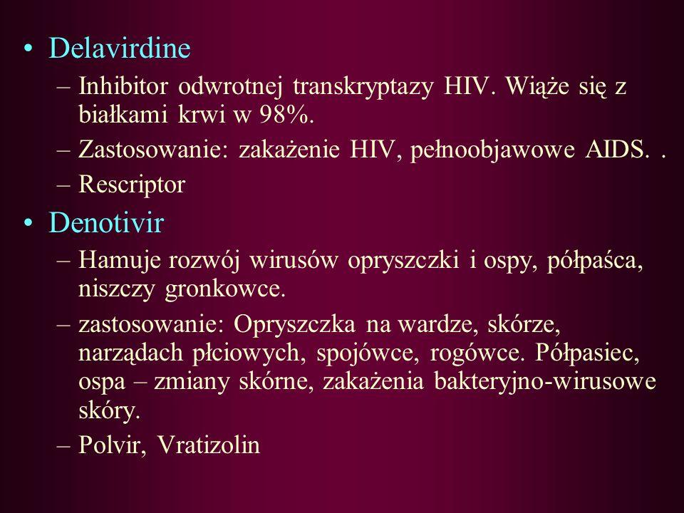 Delavirdine Denotivir
