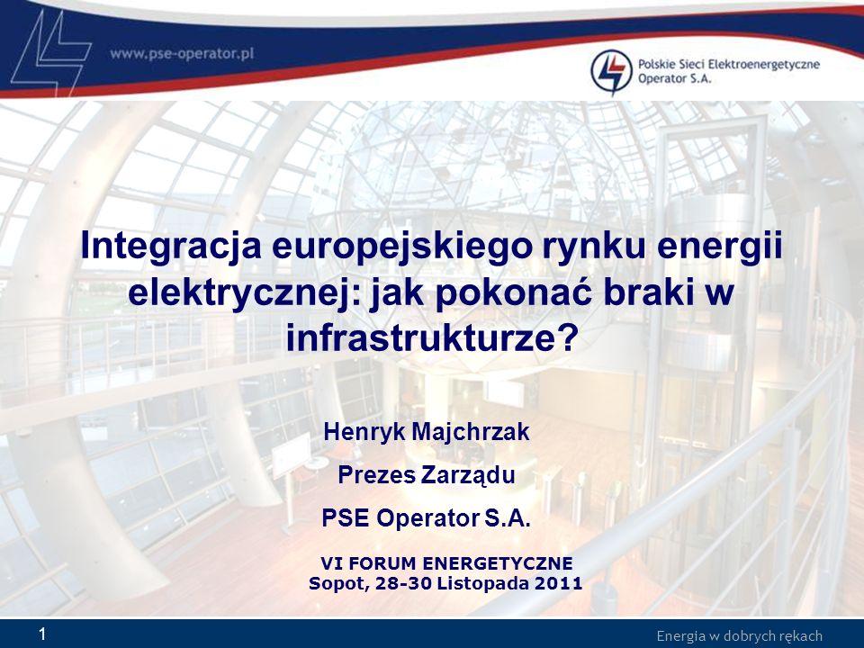 Integracja europejskiego rynku energii elektrycznej: jak pokonać braki w infrastrukturze