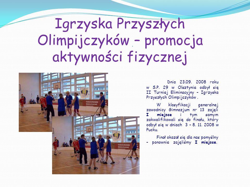 Igrzyska Przyszłych Olimpijczyków – promocja aktywności fizycznej
