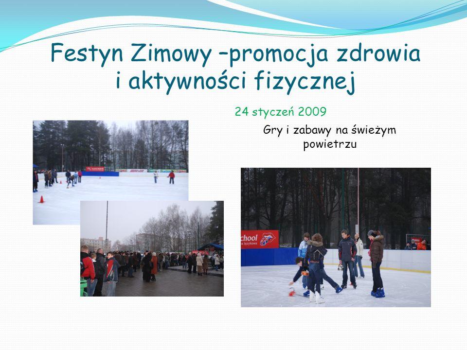 Festyn Zimowy –promocja zdrowia i aktywności fizycznej
