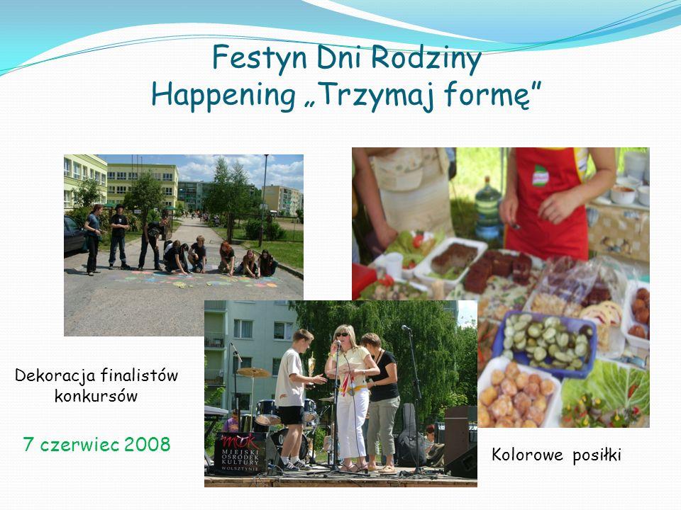 """Festyn Dni Rodziny Happening """"Trzymaj formę"""