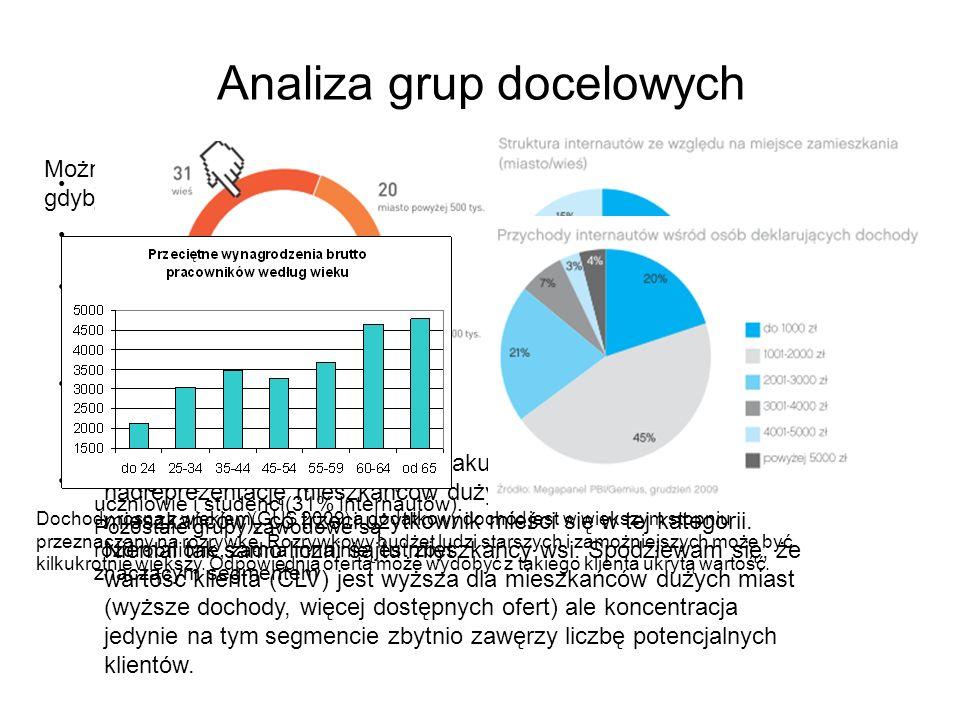 Analiza grup docelowych