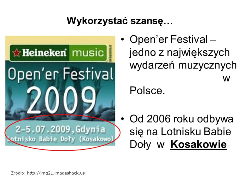Open'er Festival – jedno z największych wydarzeń muzycznych w Polsce.