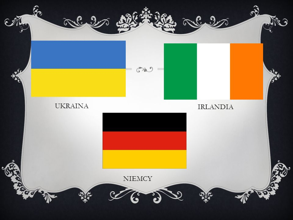 UKRAINA IRLANDIA NIEMCY