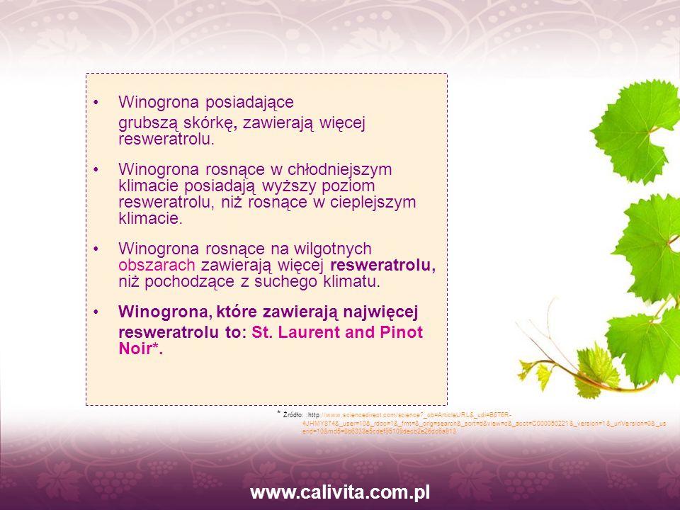 www.calivita.com.pl Winogrona posiadające