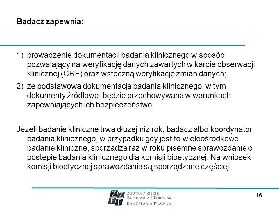 Badacz zapewnia: