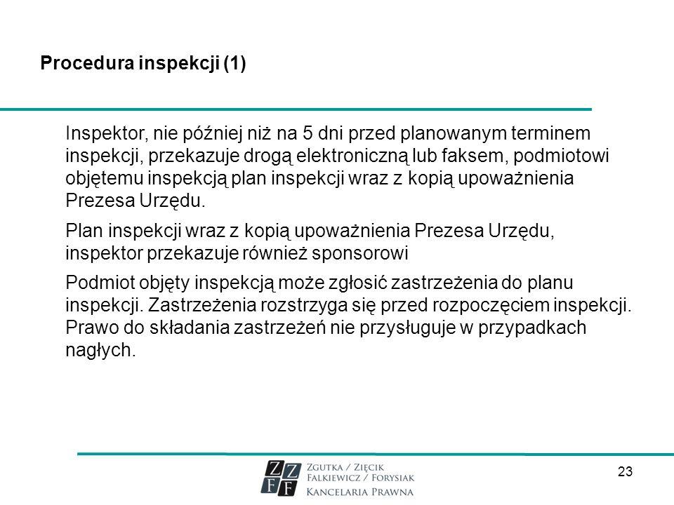 Procedura inspekcji (1)