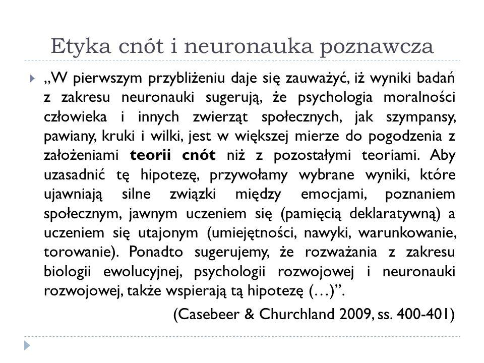 Etyka cnót i neuronauka poznawcza