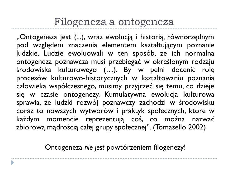 Filogeneza a ontogeneza